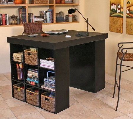 craft storage furniture organize your life. Black Bedroom Furniture Sets. Home Design Ideas