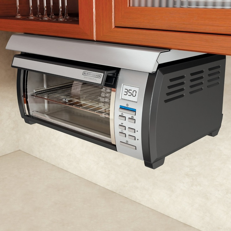 picture under cabinet toaster oven