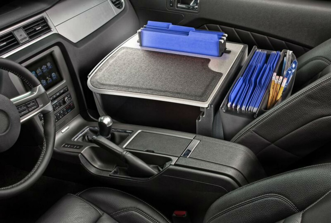 portable car office organizer