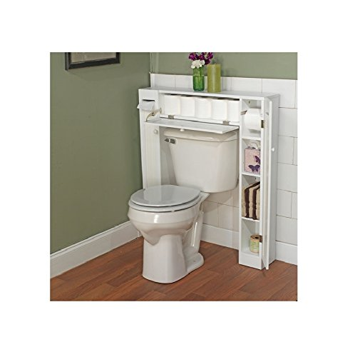 bathroom cabinets that fit over the toilet